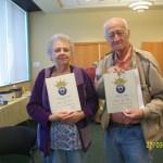 Anita Kohl and John Ong