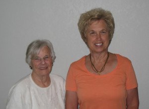 Martha Peterson and Bonnie Kremer