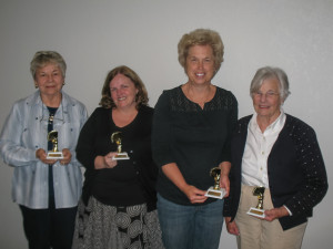 Mary K. Higgans, Natalie Carroll, Bonnie Kremer, Martha Peterson