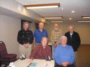 Joe Rinas, Paul Klein, Don Harker, Bob Otto, Bob Buckheister, Roger Welty