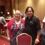 Sally Miexner and Yu-Diann Lu