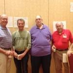 Knockout and Swiss Team Winners Joe Pieper, Mark Patton, Bill Kochneff & Bob Otto